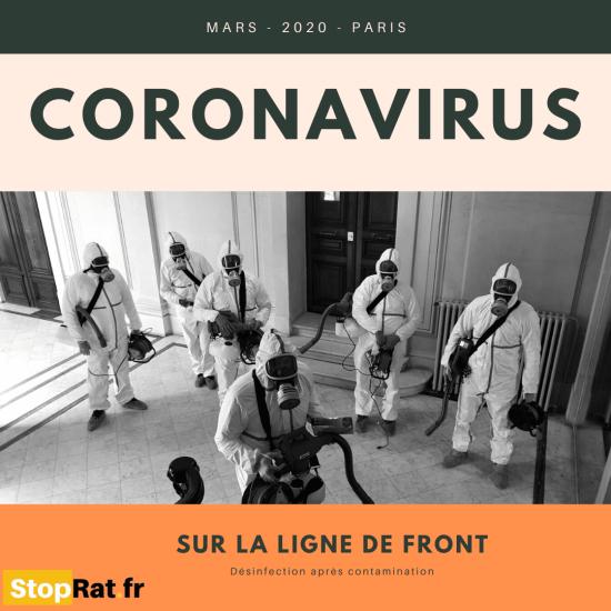 Entreprise de Desinfection Coronavirus à Paris & Île-de-France